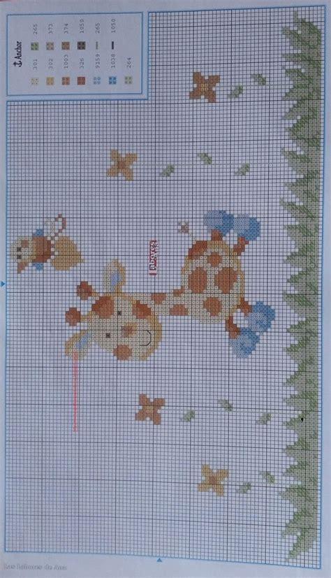 cuadros infantiles a punto de cruz graficos punto de cruz gratis baberos canastilla bebe