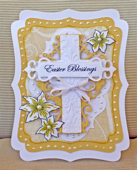 religious easter cards to make card quot easter blessings quot card heartfelt creations