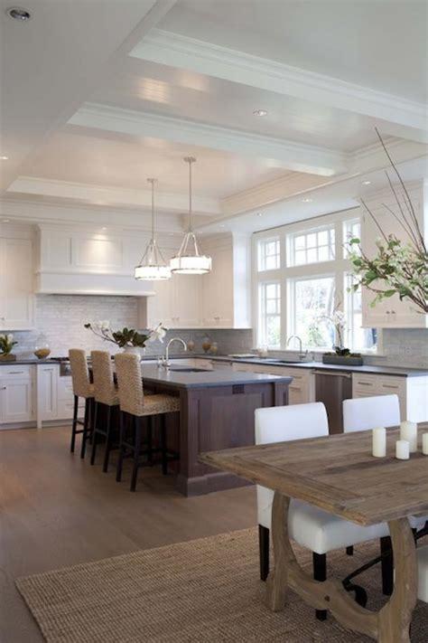 open kitchen island designs open kitchen design with white shaker cabinets cherry kitchen island concrete countertops