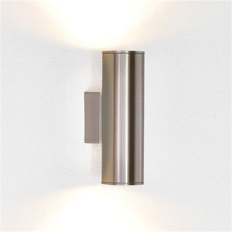 outdoor wall light led riga led outdoor wall light stainless steel