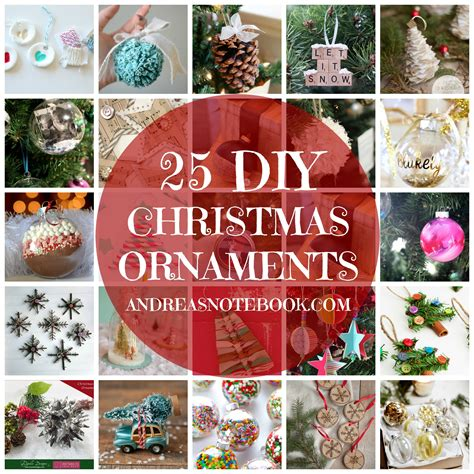 tree ornaments to make at home modern crafts tree decorations ideas