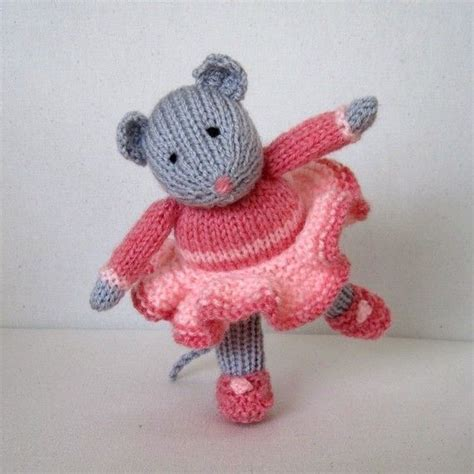 mouse knitting pattern 1178 best images about knitted toys on free