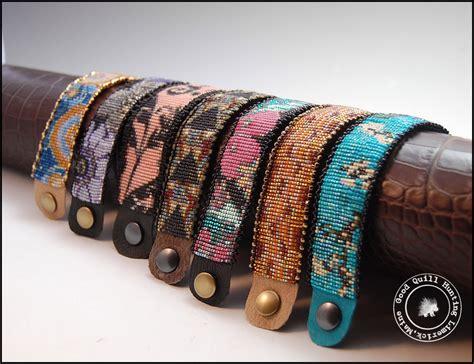 how to make beaded bracelets on a loom mirrix loom bracelets completed loom bracelets quill