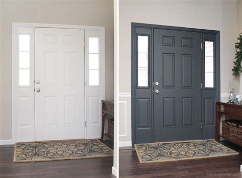 interior painted doors painted interior front door giveaway how to nest for less