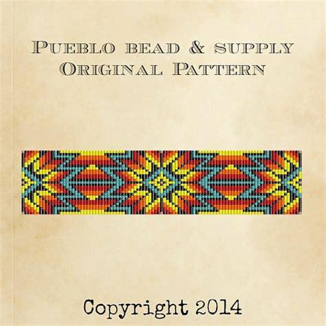 indian bead weaving patterns sunburst bead loom pattern loom cuff bracelet pdf file beaded