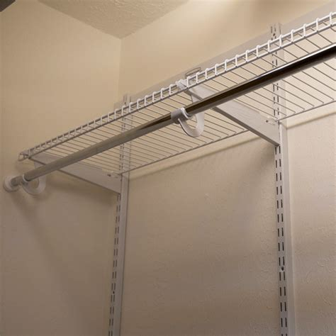 hanging wire shelves inexpensive hanging wire closet shelves roselawnlutheran