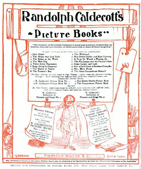 randolph caldecott picture books the in the wood a randolph caldecott picture book