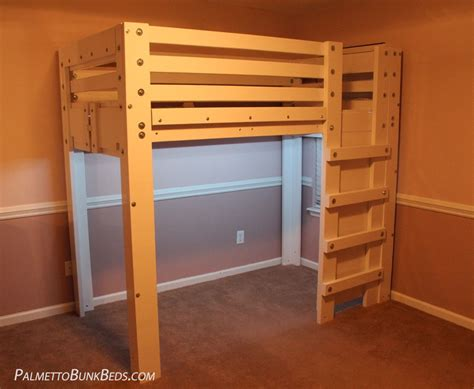 lofts and bunk beds loft bed plan palmetto bunk beds