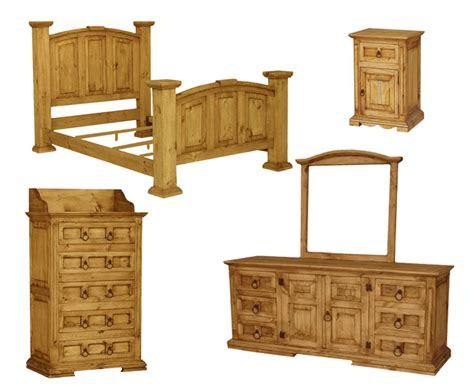santa fe bedroom furniture santa fe rustic bedroom set
