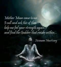 wiccan prayer the caption says it all moon selene goddess