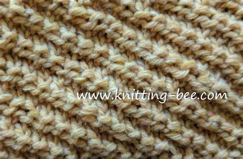 diagonal knitting stitch knit and purl stitches you ll working with all free