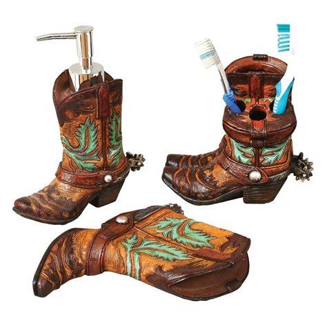 cowboy bathroom accessories accessories western themed bathroom decor 2427
