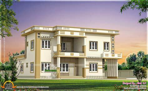 exterior house paint colors kerala home design contemporary villa in different color