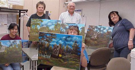 bob ross painting classes florida lenherr bob ross instructor in florida
