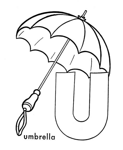 Letter U Coloring Pages - Coloring Home U Coloring Page