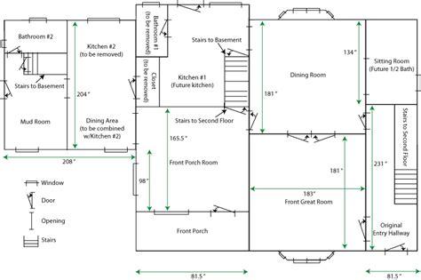 floor plan with measurements house plan with measurement studio design gallery