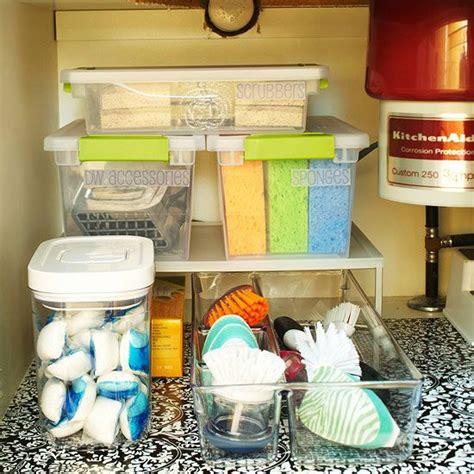 kitchen sink storage solutions the sink storage solutions