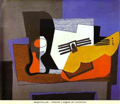 picasso paintings guitar pablo picasso still with guitar olga s gallery