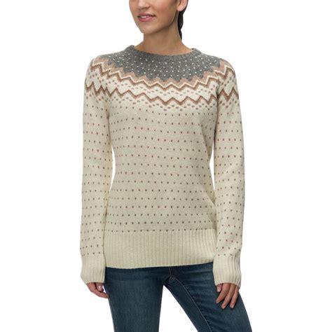 knit sweater womens fjallraven ovik knit sweater s backcountry