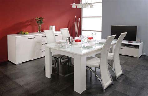 salle 224 manger blanc laqu 233 photo 10 10 salle 224 manger blanc laqu 233 de chez meubles