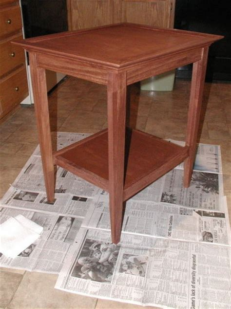 side table woodworking plans end table from wood magazine plan by rwyoung