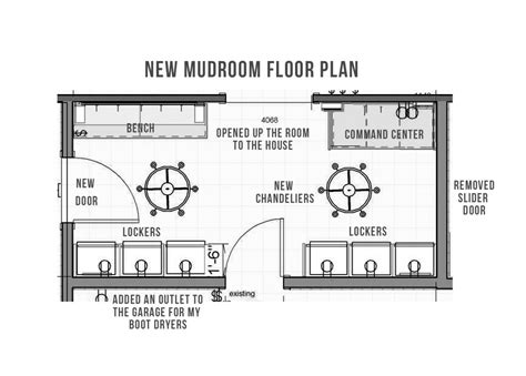 floor plans with mudroom project spotlight a mudroom remodel with mucho storage