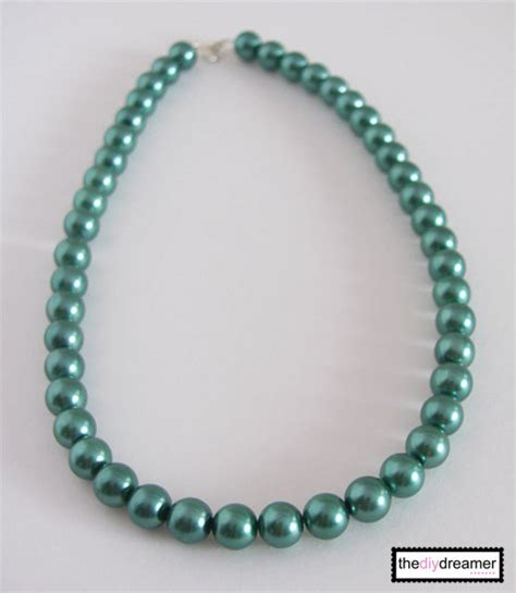chunky bead necklaces chunky bead necklace tutorial the d i y dreamer
