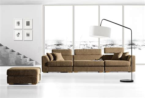 modern modular sofa sectional brown fabric modern modular sectional sofa