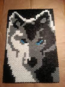 perler bead wolf 17 best images about perle repasser divers on