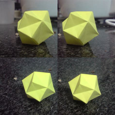 stellated octahedron origami stellated octahedron 1 square by spiritofcat on deviantart