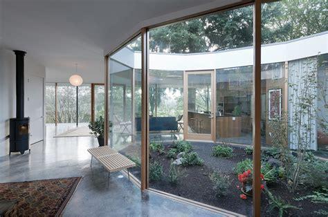 garden home interiors interior courtyard modern garden design