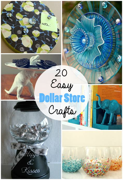 cheap craft 20 cheap simple dollar store crafts the craftiest