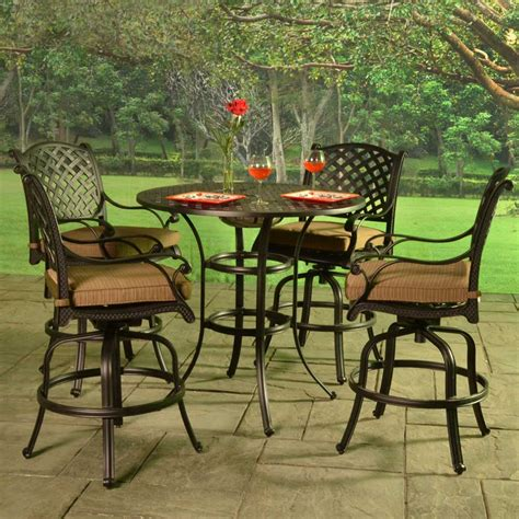 patio furniture bar height set patio furniture bar height collection patio bar sets