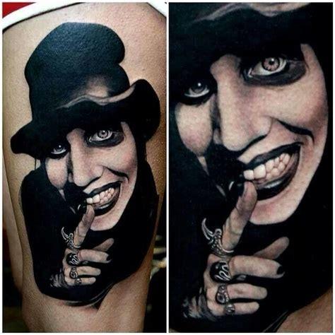 marilyn manson tattoo tattoos