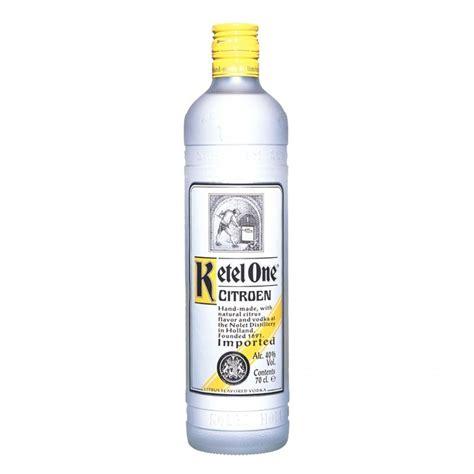 Ketel One Citroen Vodka by Ketel One Citroen Vodka