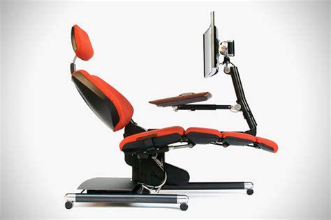 recliner computer desk altwork reclining desk workstation gearnova