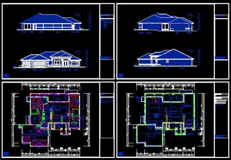 Craftsman Cottage Floor Plans cad building template us house plans house type 21