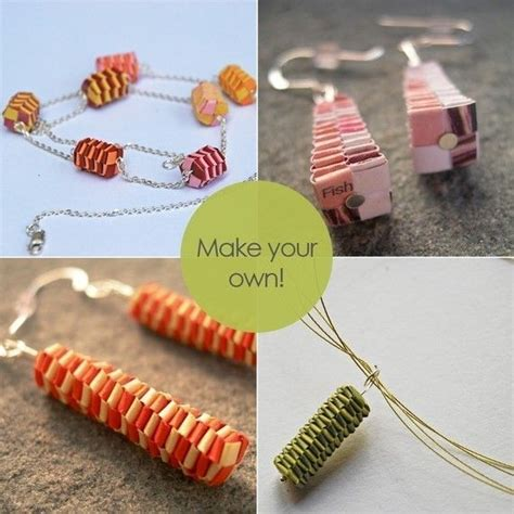 i want to make my own jewelry 17 best images about jewelry paper on papier
