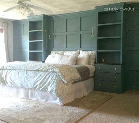 built ins for bedroom diy master bedroom built ins hometalk