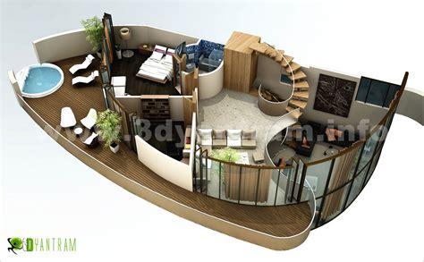 House Plan 3d 3d floor plan design interactive 3d floor plan yantram