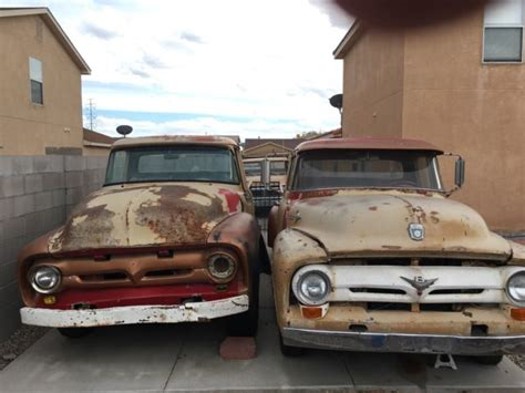1956 Ford F100 Parts by N10v6mex14571 1956 Ford F100 1956 F200 Parts Truck