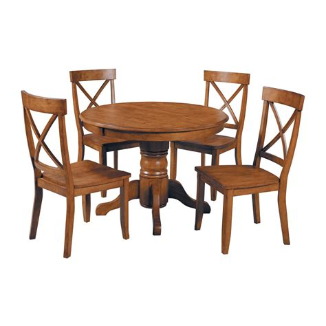 home styles dining table shop home styles cottage oak dining set with dining