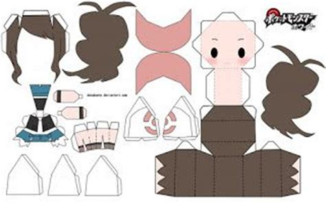 paper crafts anime anime papercraft templates papercraft anime chibi