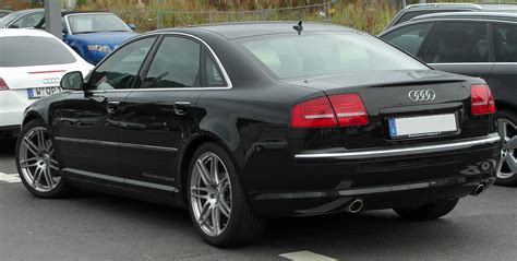 Audi A8 D3 by Plik Audi A8 D3 Ii Facelift Rear 20100725 Jpg