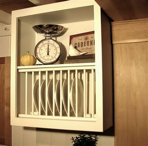kitchen cabinet plate rack eight wooden dish racks for a classic kitchen decor hometone