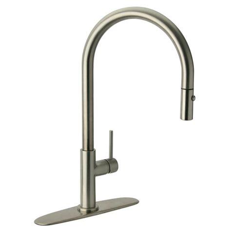 glacier kitchen faucet glacier bay carmina single handle pull sprayer