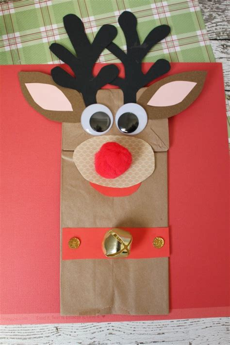 reindeer paper bag craft rudolph the nosed reindeer paper bag craft sippy cup