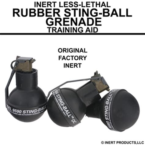 sting rubber inert products llc inert explosive products