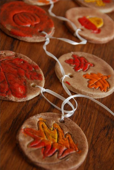 harvest craft ideas for fall salt dough ornaments thanksgiving salt dough and