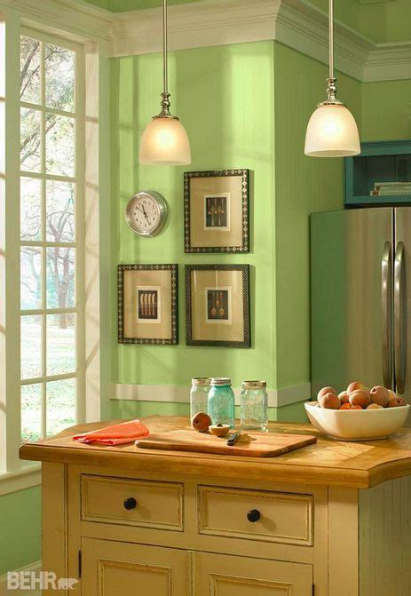 behr paint colors interior kitchen this basil chiffonade hue certainly does bring a